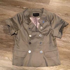 BCBG MAXAZRIA Short Sleeve Jacket